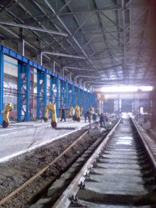 Комплексные услуги в строительстве железных дорог